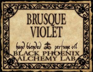Brusque Violet