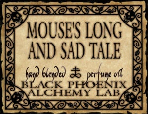 Mouse's Long and Sad Tale