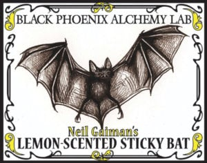 Lemon Scented Sticky Bat