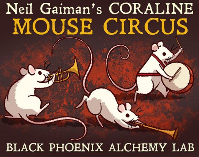 Mouse Circus Perfume Oil Black Phoenix Alchemy Lab