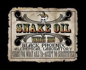 Snake Oil Vintage 2009