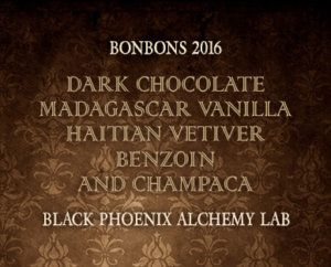 Dark Chocolate Madagascar Vanilla Vetier Benzoin and Champaca