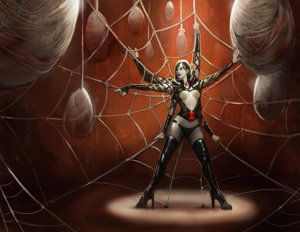 Arachnina, The Spider Girl