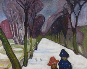 new-snow-in-the-avenue-by-edvard-munch