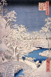 the-drum-bridge-and-yuhi-hill-at-meguro-by-hiroshige