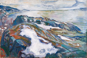 winter-landscape-by-edvard-munch