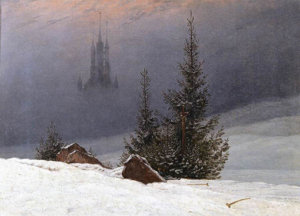 artofwinter16web-winter-landscape-with-church-by-caspar-david-friedrich
