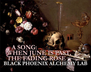 A SONG WHEN JUNE IS PAST THE FADING ROSE- web