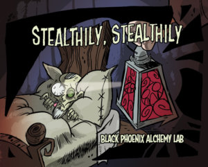 telltaleheart BPAL web - stealthily stealthily