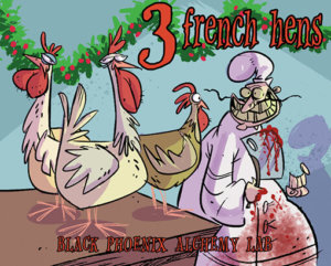 12 days BPAL web - french hens