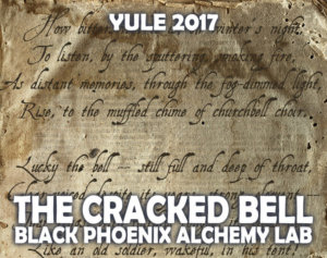 YULE 2017 LABEL - the cracked bell