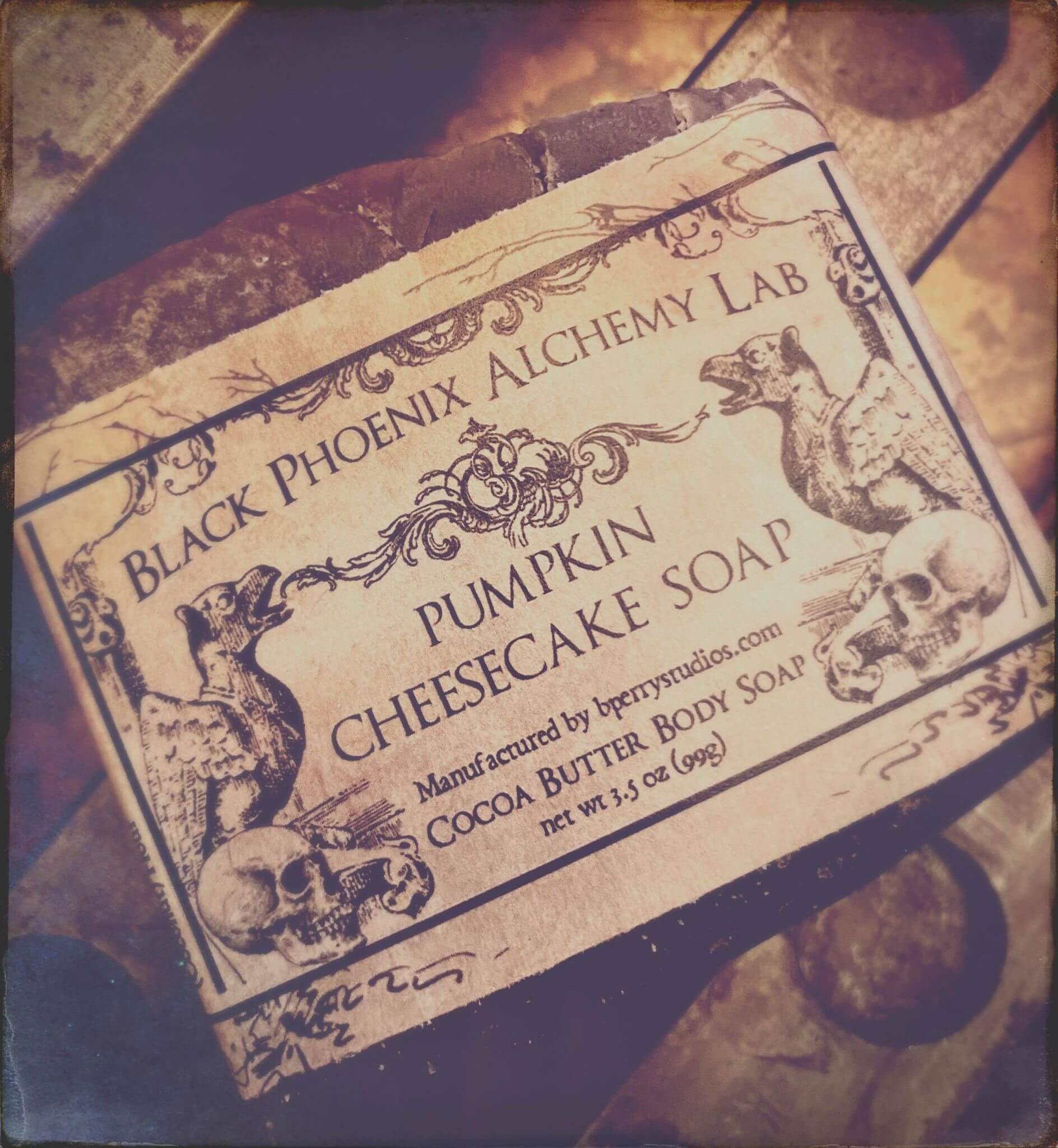Pumpkin Cheesecake Soap Black Phoenix Alchemy Lab